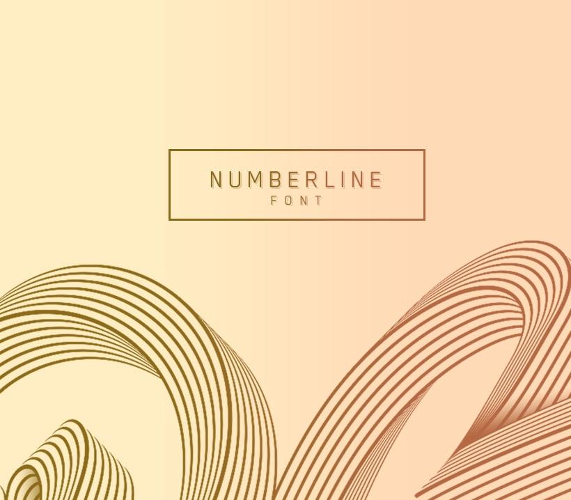 Numberline Font 22