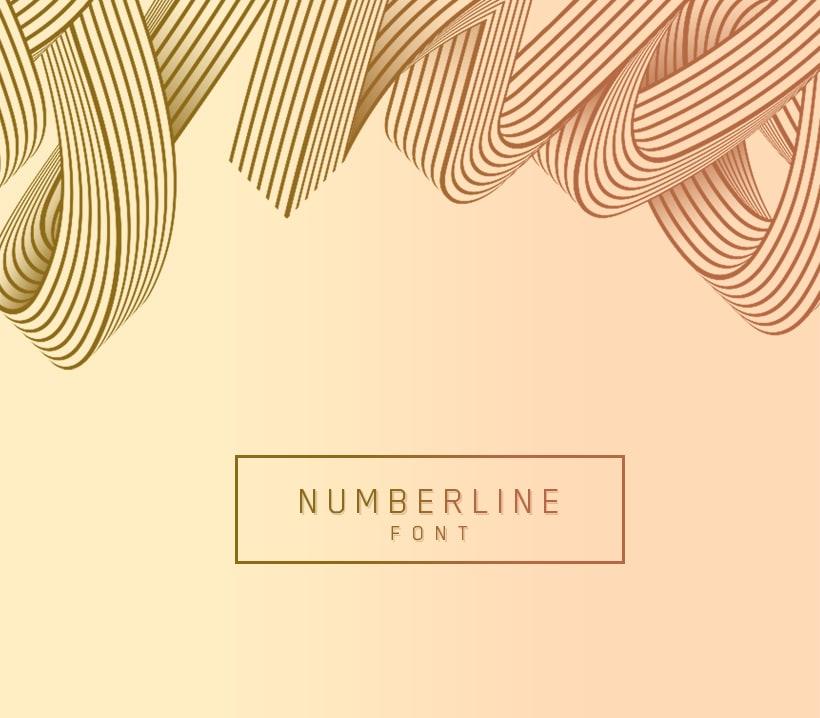 Numberline Font 0