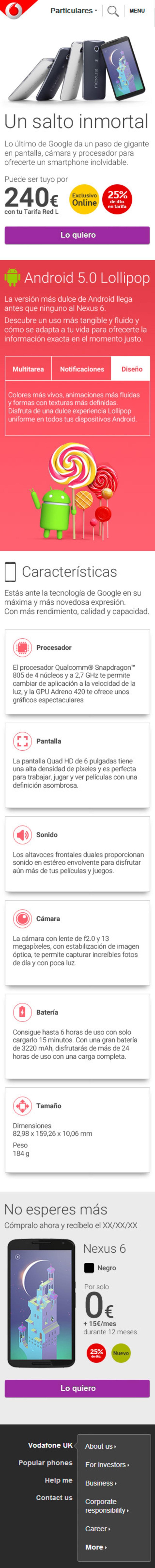 Landing Nexus 6 (Landing Web Responsive) 1