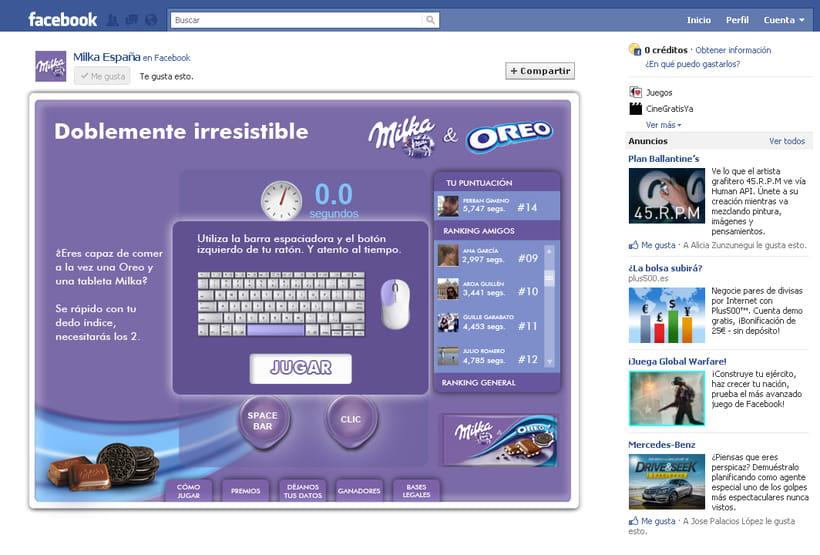 Doblemente Irresistible (Facebook App) -1