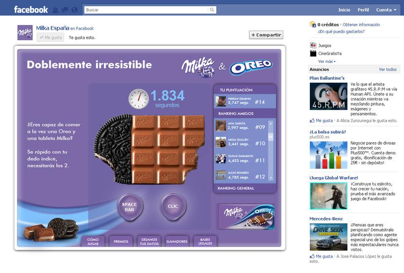 Doblemente Irresistible (Facebook App) 1