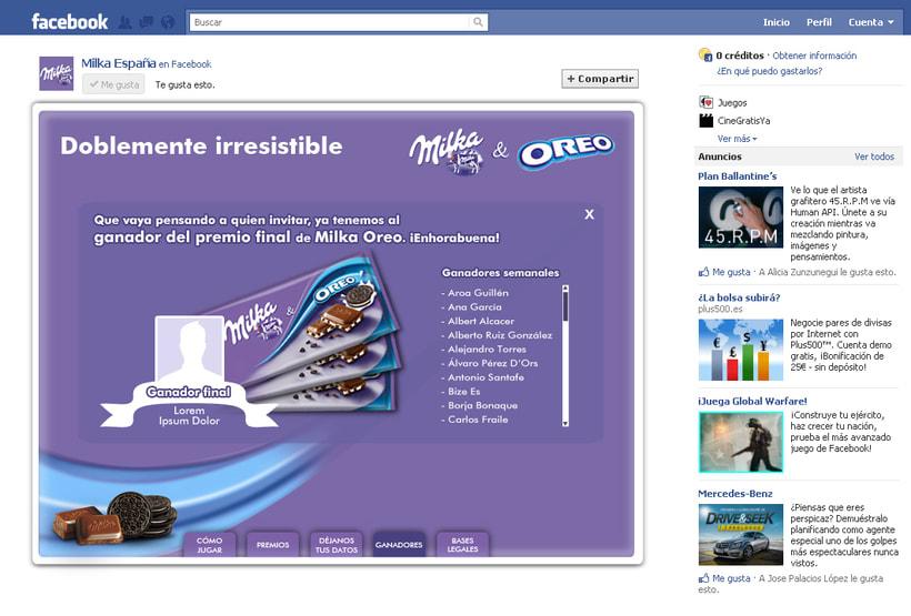 Doblemente Irresistible (Facebook App) 3