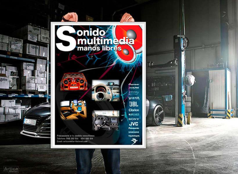 Branding Artica Motor 8