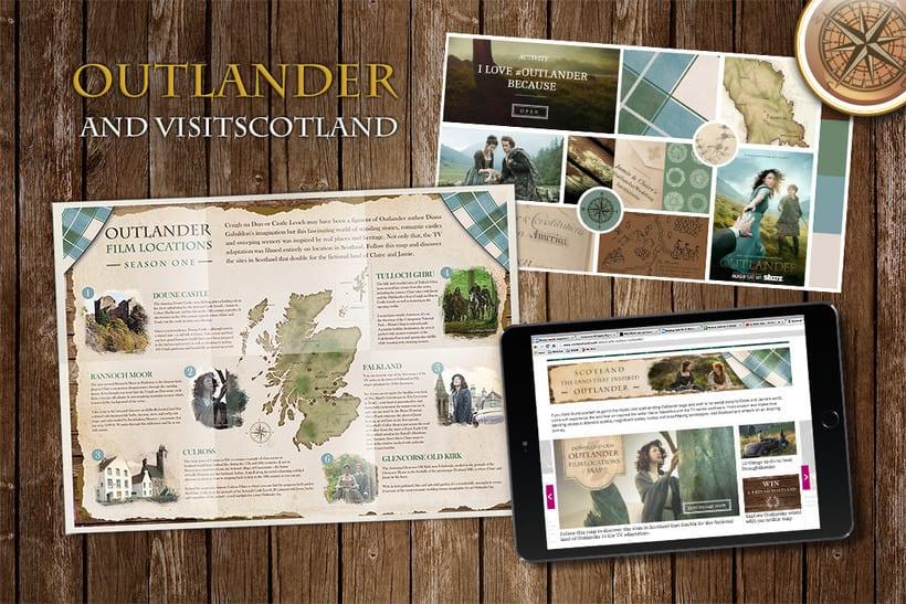 Outlander & VisitScotland 0