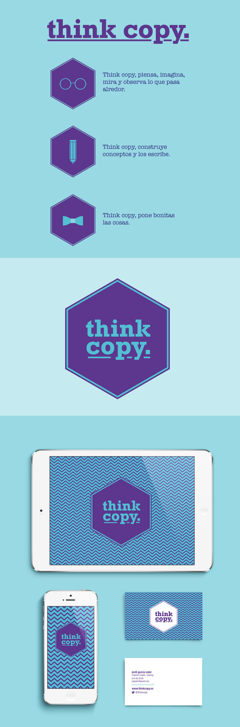 Identidad para Think Copy 0