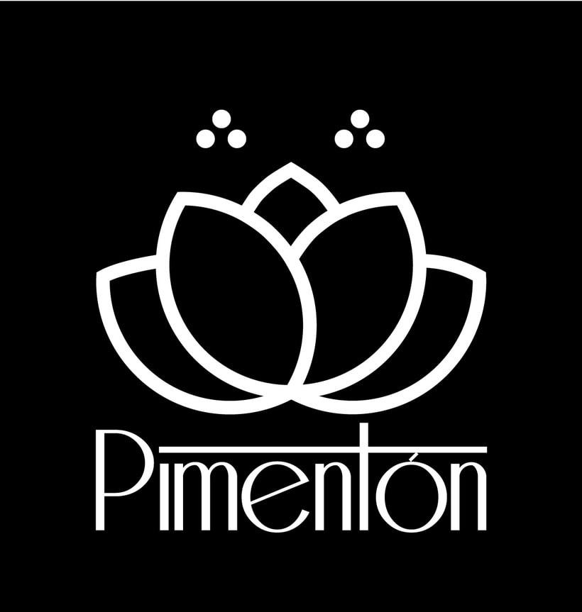 Identidad corporativa Restaurante Pimentón. Logos y cartelería 4