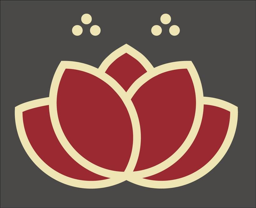 Identidad corporativa Restaurante Pimentón. Logos y cartelería 0