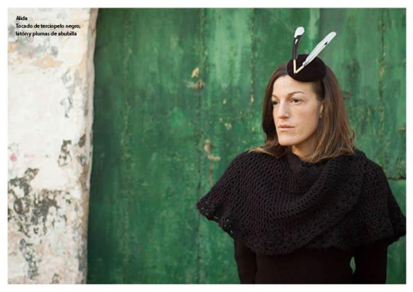 Diseño de accesorios - Tocados y sombreros 16