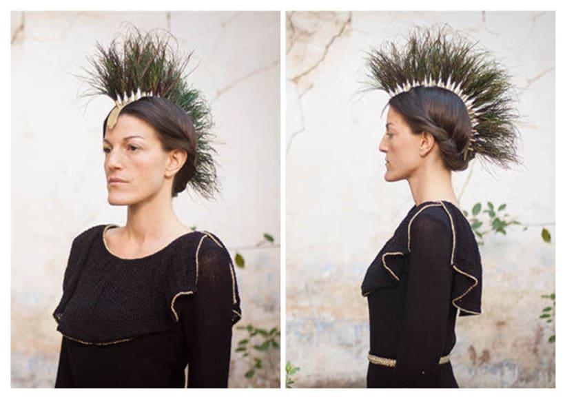 Diseño de accesorios - Tocados y sombreros 21