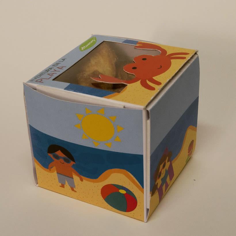 "Packaging galletas infantiles ""Aventura"" -1"