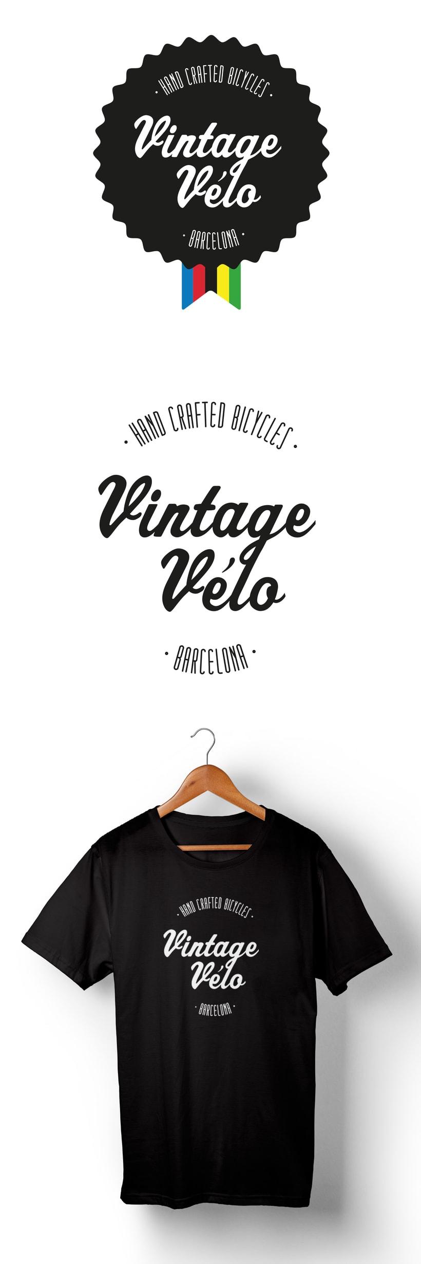 Identidad para Vintage Vélo, un pequeño taller de bicis de Barcelona -1