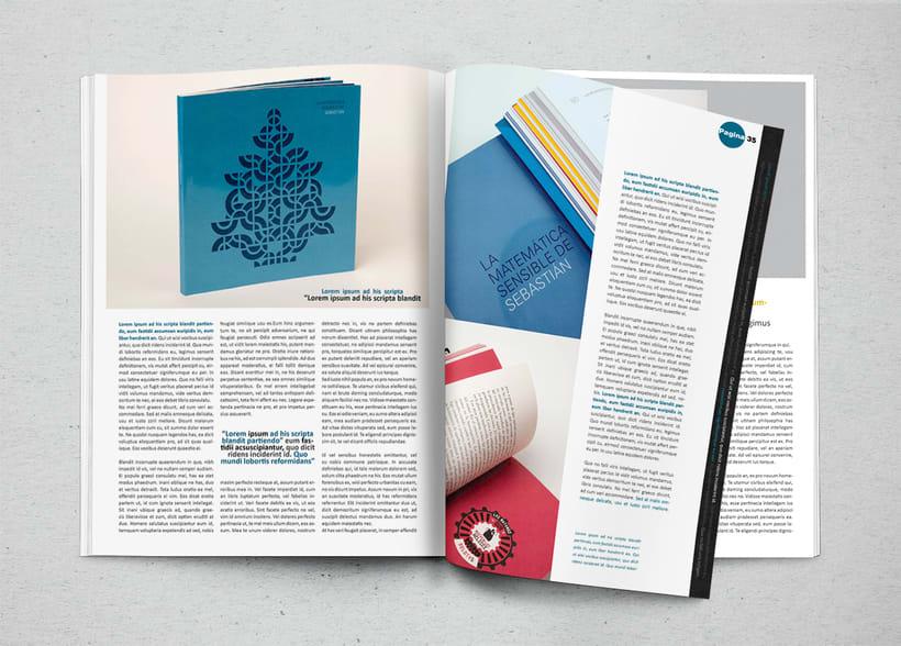 Maqueta Revista Arte y Diseño 0