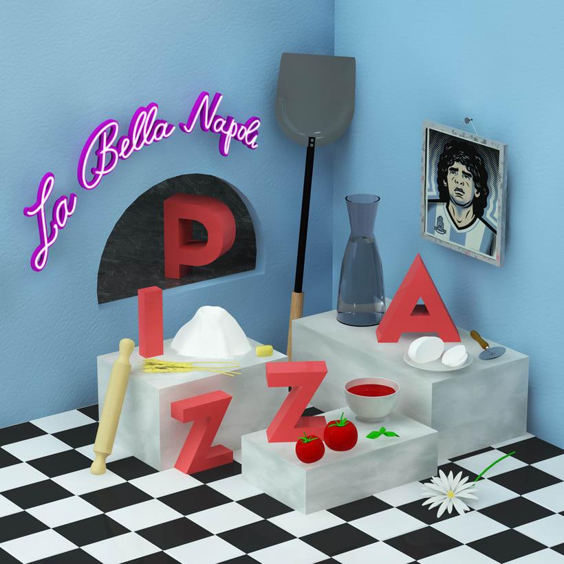 Pizza Margherita - Napoli -1