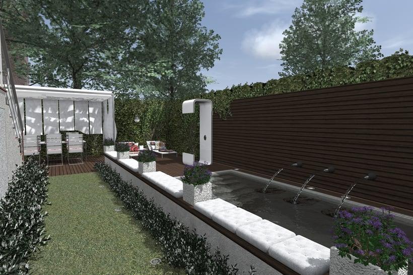Proyecto de Reforma de Paisaje Privado en Paracuellos de Jarama -1