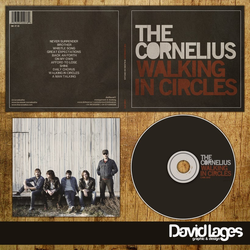 CD The Cornelius (Walking in Circles) -1