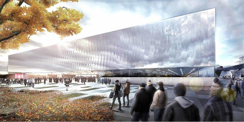 Malley Sports Complex, Switzerland. Colaboración con Ulargui arquitectos 1
