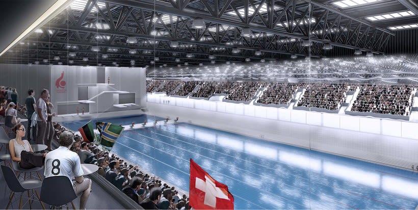Malley Sports Complex, Switzerland. Colaboración con Ulargui arquitectos 4