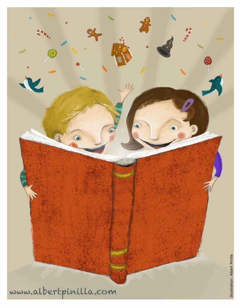Ilustración Hansel Y Gretel Albert Pinilla -1