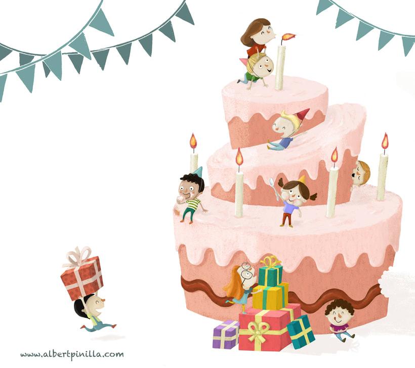 Ilustración Cumpleaños Albert Pinilla -1