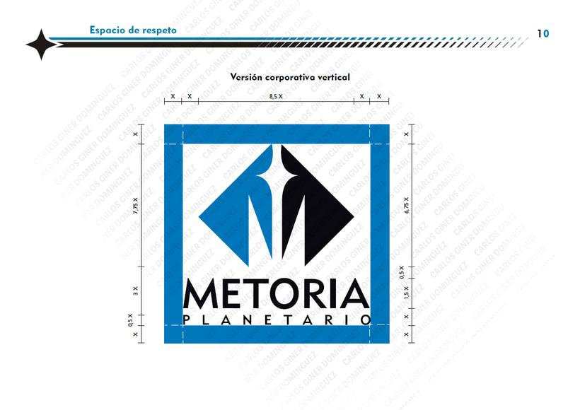 Manual de Identidad - Planetario Metoria 5