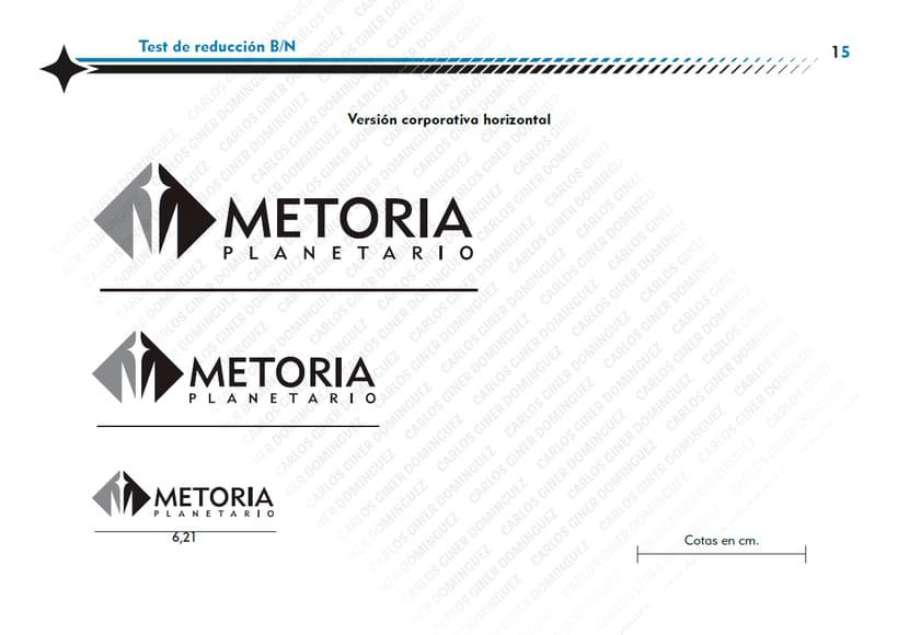 Manual de Identidad - Planetario Metoria 7