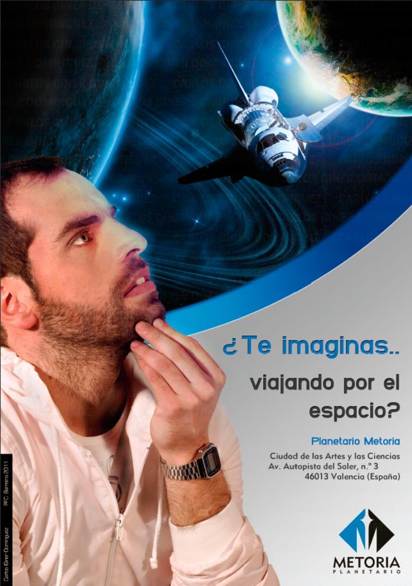 Publicidad - Planetario Metoria 1