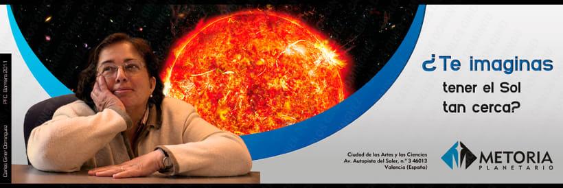 Publicidad - Planetario Metoria 2
