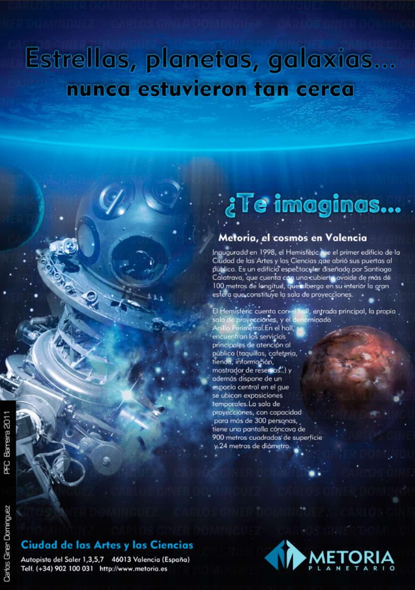 Publicidad - Planetario Metoria 4