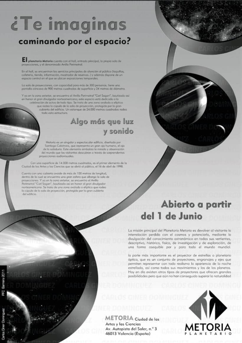 Publicidad - Planetario Metoria 5