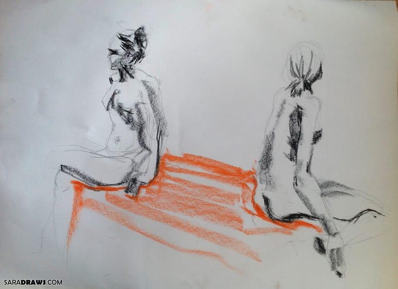 Dibujo con Modelo Vivo -1