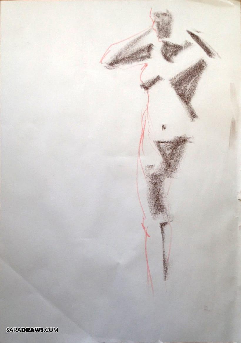 Dibujo con Modelo Vivo 1