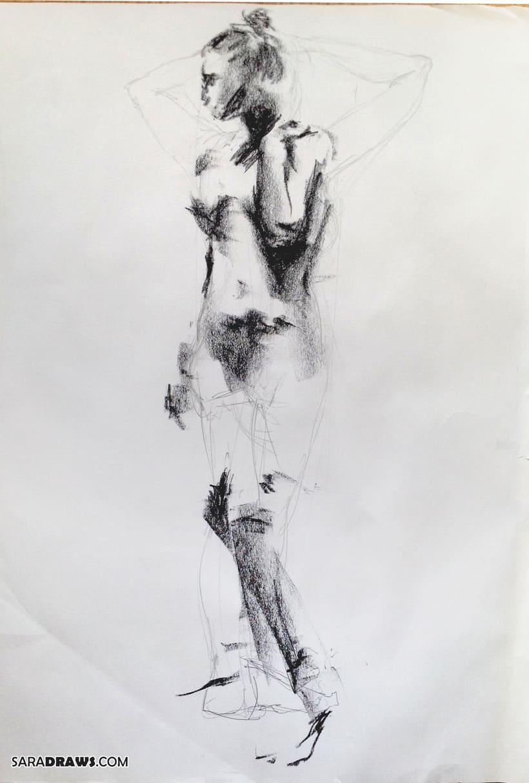 Dibujo con Modelo Vivo 2