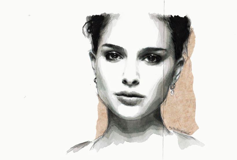 When summer is over (Portrait of Natalie Portman)Nuevo proyecto -1