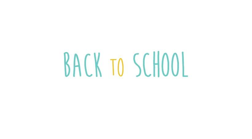 Back to School pattern 0