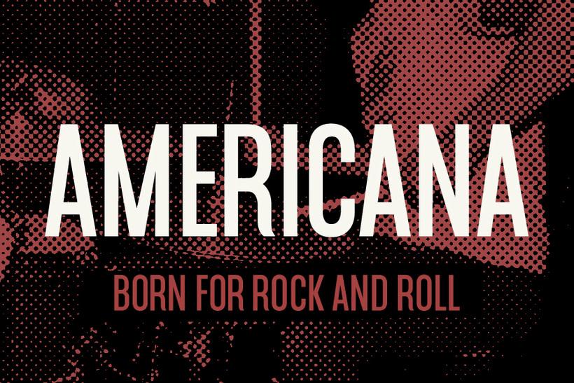 Americana tipografía 1