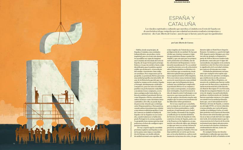 Revista Foment del Treball / Otoño 2015 1