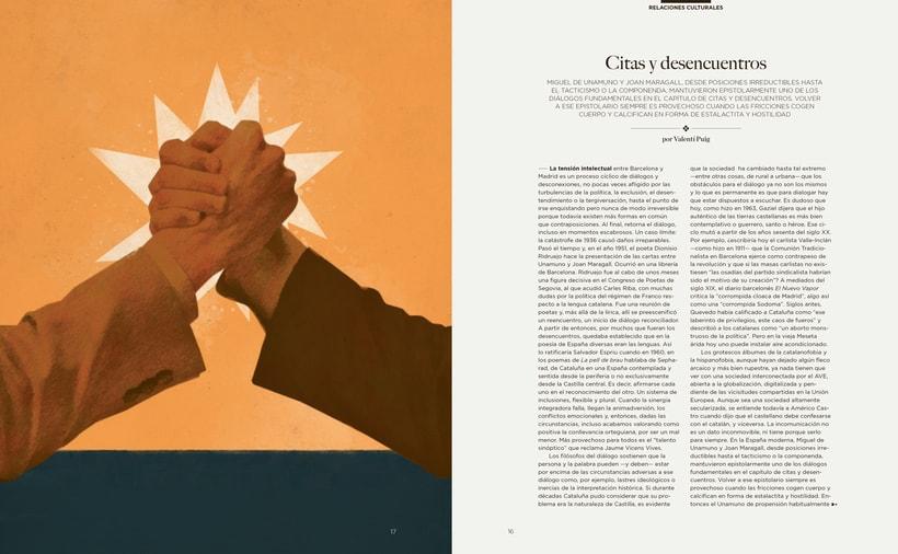 Revista Foment del Treball / Otoño 2015 5