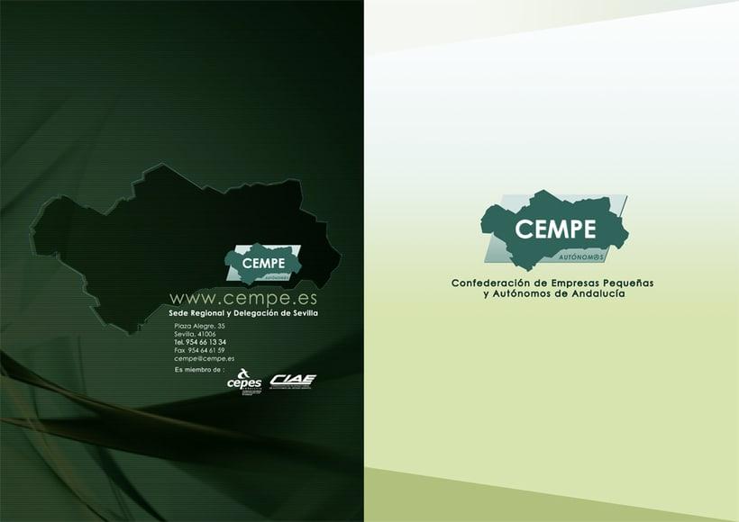 CEMPE  - Marca Corporativa / Medios 5