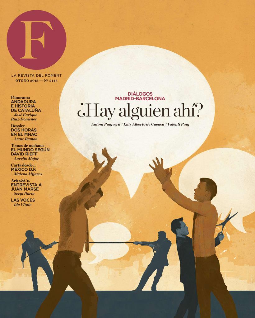 Revista Foment del Treball / Otoño 2015 0