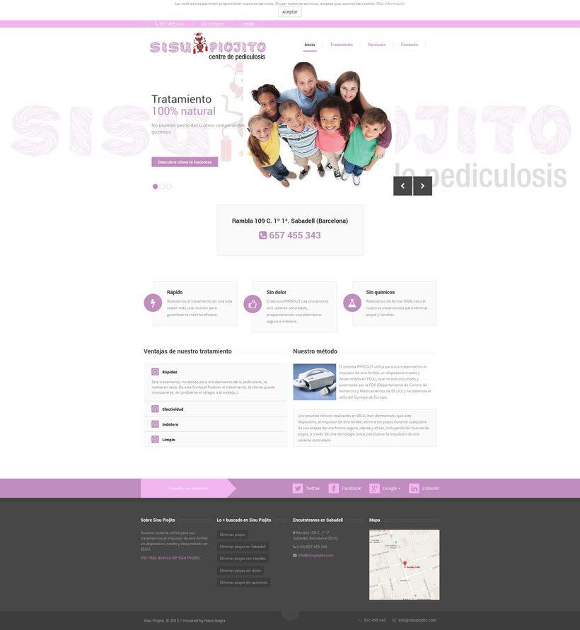 Desarrollo web Sisu Piojito 0