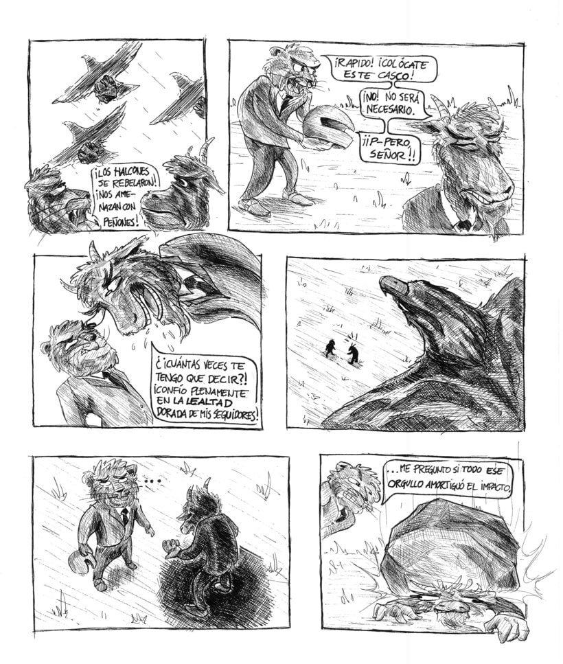 Animal comic strips - Jungle Politics 0