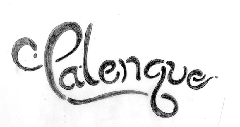 Mi Proyecto del curso Los secretos dorados del lettering 1