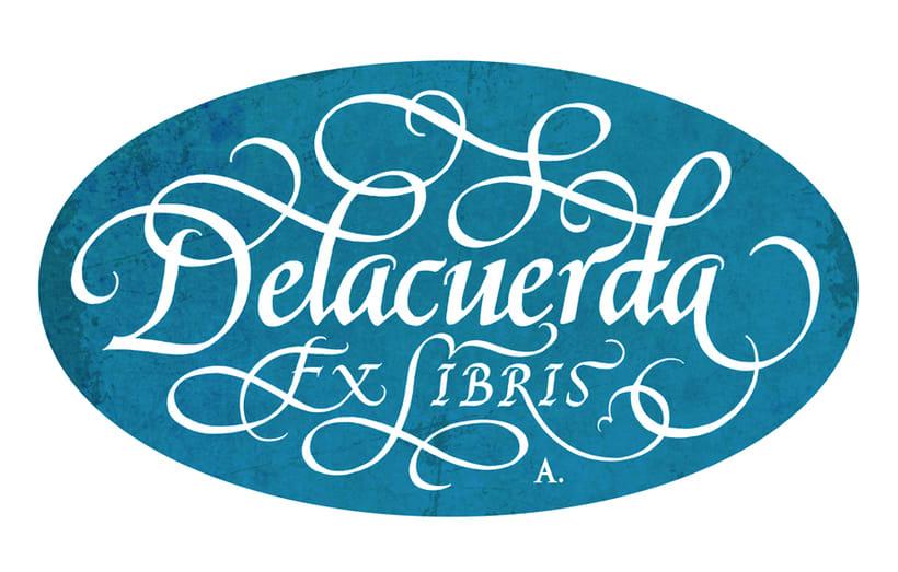 'Ex Libris' para Delacuerda 3