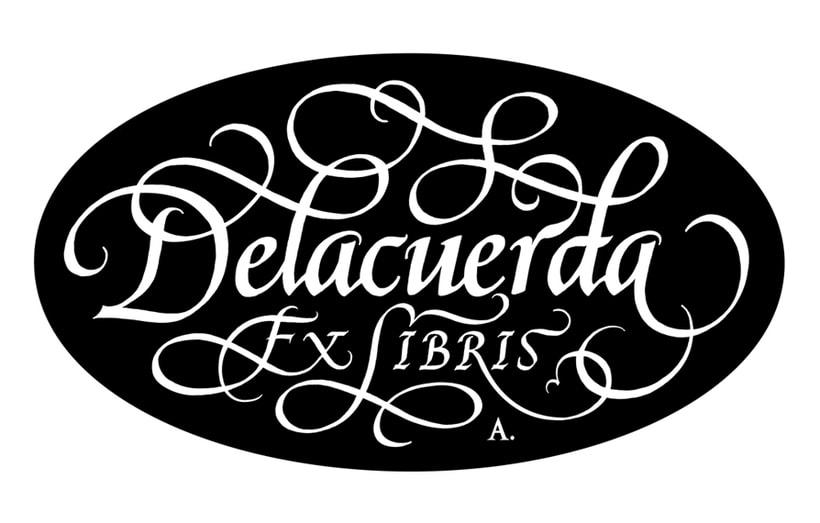 'Ex Libris' para Delacuerda 1