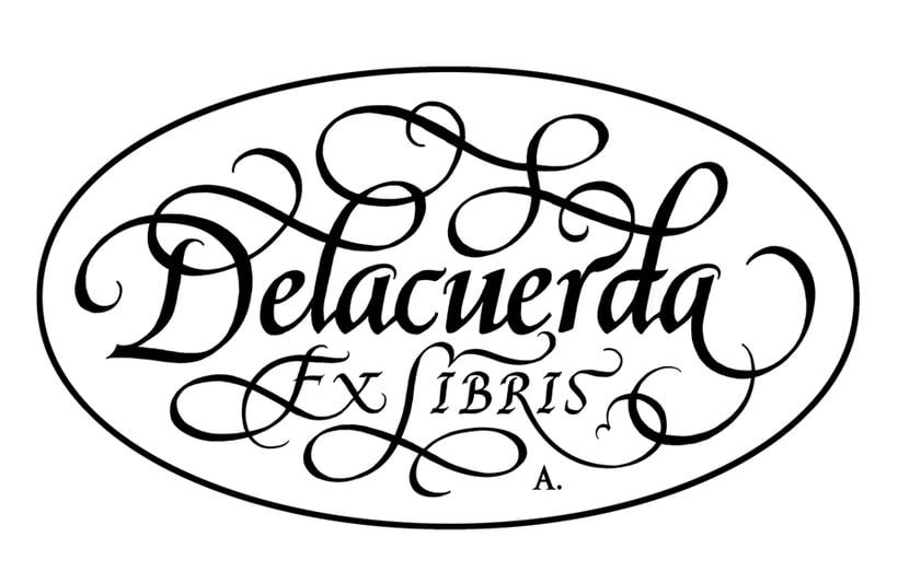 'Ex Libris' para Delacuerda 2