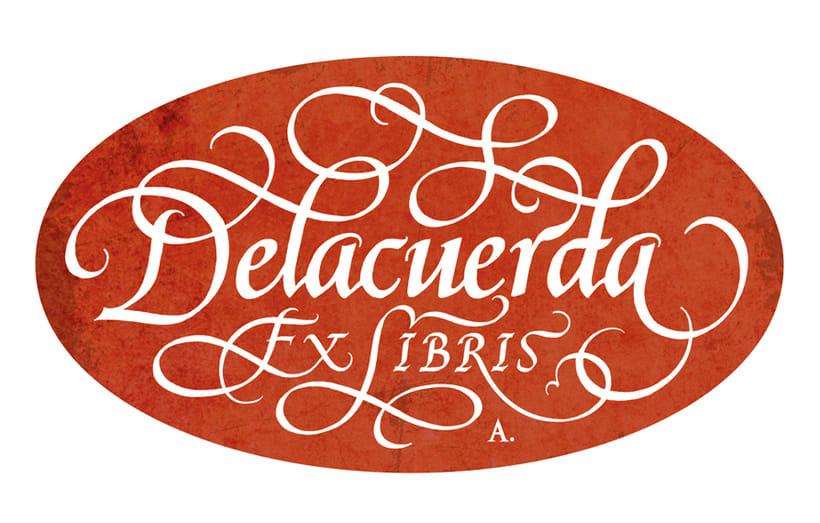 'Ex Libris' para Delacuerda 5