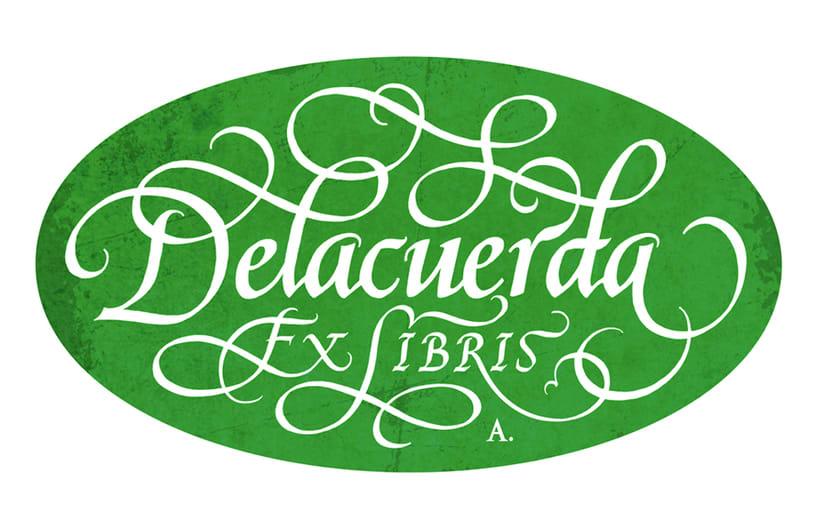 'Ex Libris' para Delacuerda 6