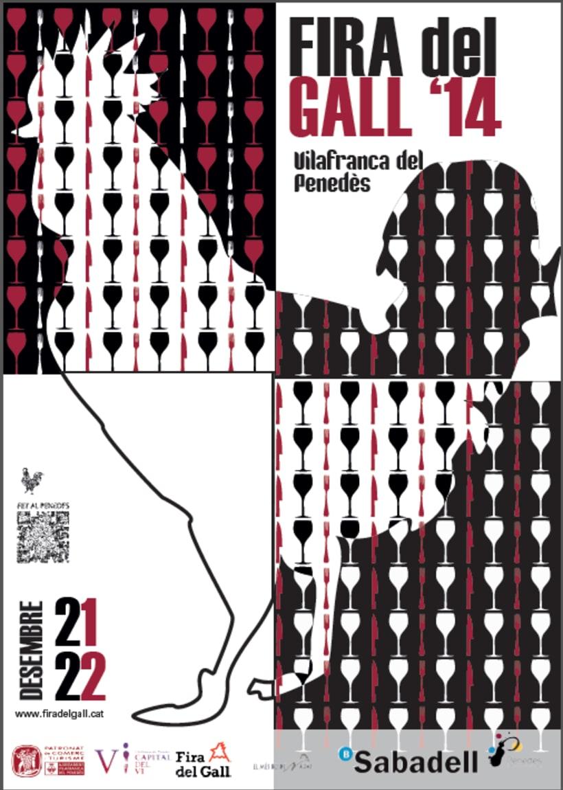 Cartell Fira del Gall Vilafranca del Penedès 0