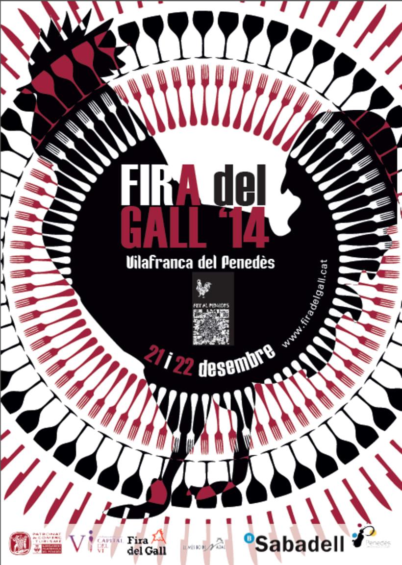 Cartell Fira del Gall Vilafranca del Penedès 1