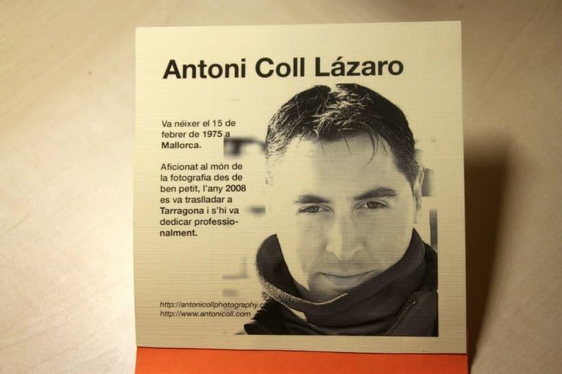 Catalogo Antoni Coll Fotografia 0